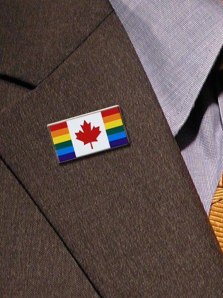 Canada Pride Lapel Pins