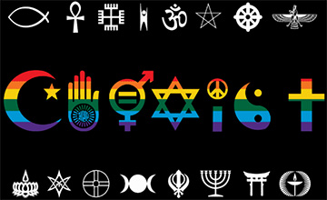 Coexist Pride Flag