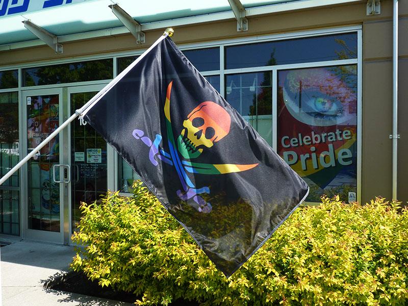 pride pirate flags