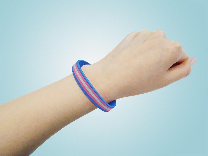 Transgender Silicone Bracelets