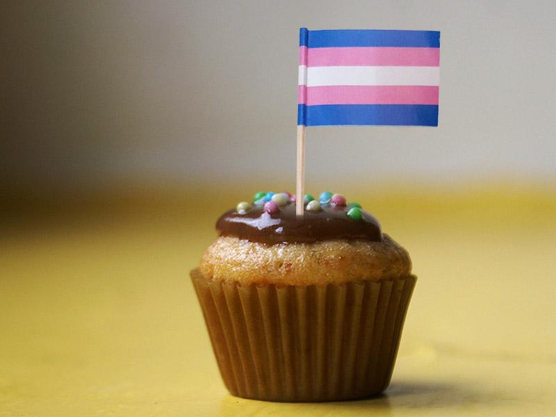 Transgender Toothpick Flags